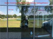 Ansicht Sonnenschutzfolie - Spiegelfolie